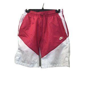 Nike Nylon Shorts Elastic Waist Drawstring M Vinta